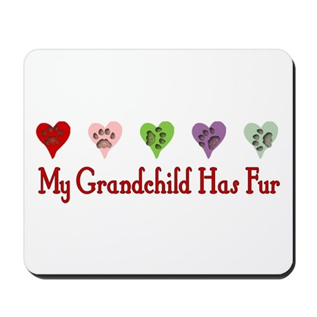 Furry Grandchild Mousepad