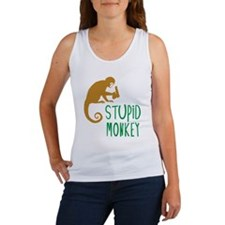 Stupid Monkey Women's Tank Top