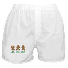 No Evil Boxer Shorts