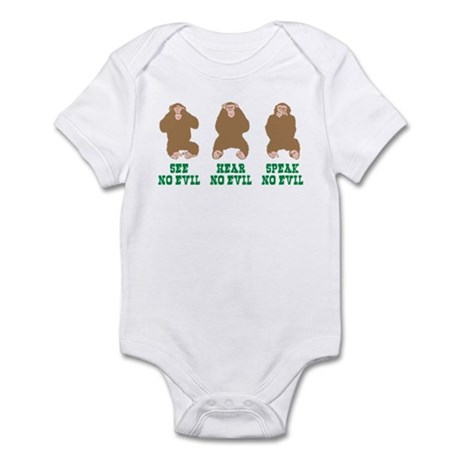 No Evil Infant Bodysuit