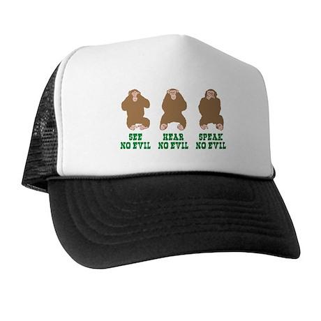 No Evil Trucker Hat