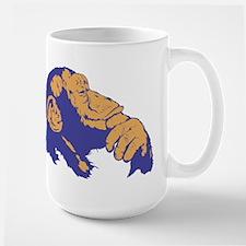 Thinking Chimp Large Mug