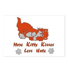 More Kitty Kisses Postcards (Package of 8)