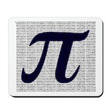 Pi to 3500 decimal places Mousepad