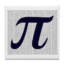 Pi to 3500 decimal places Tile Coaster