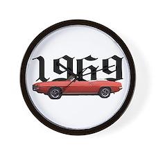 1969 Pontiac Firebird Wall Clock