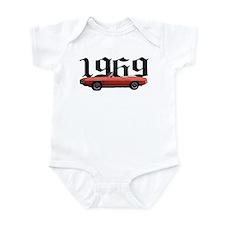 1969 Pontiac Firebird Infant Bodysuit