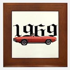 1969 Pontiac Firebird Framed Tile