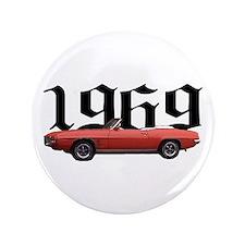 """1969 Pontiac Firebird 3.5"""" Button"""