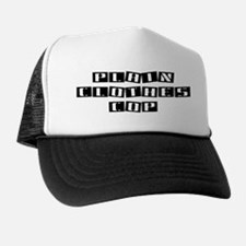 Plain Clothes Cop Trucker Hat