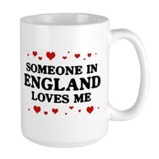 Loves Me in England Mug