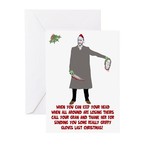 Extreme bad taste Christmas Greeting Cards (Pk of