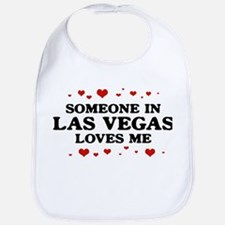 Loves Me in Las Vegas Bib
