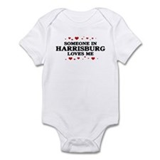 Loves Me in Harrisburg Infant Bodysuit
