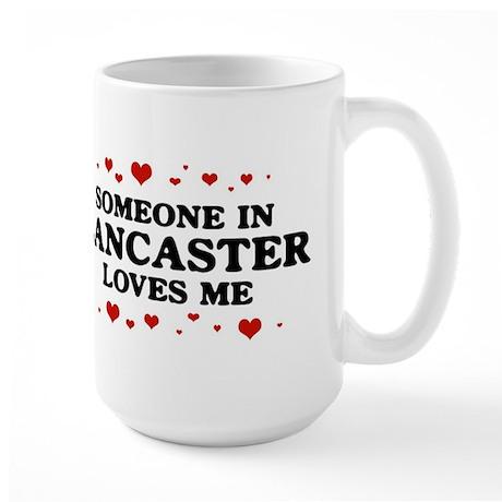 Loves Me in Lancaster Large Mug