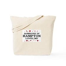 Loves Me in Hampton Tote Bag