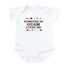 Loves Me in Guam Infant Bodysuit