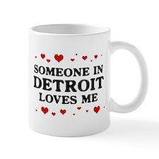 Loves Me in Detroit Mug