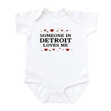 Loves Me in Detroit Infant Bodysuit