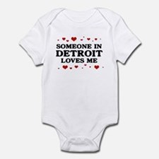 Loves Me in Detroit Infant Bodysuit