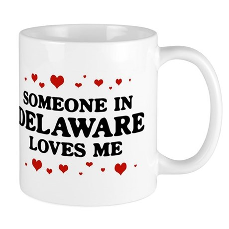 Loves Me in Delaware Mug