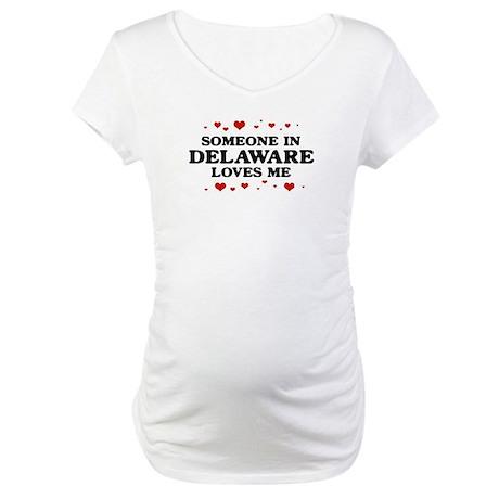 Loves Me in Delaware Maternity T-Shirt