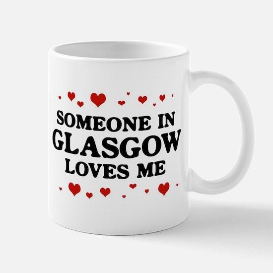Loves Me in Glasgow Mug