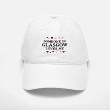 Loves Me in Glasgow Baseball Baseball Cap