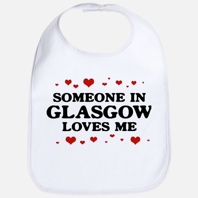 Loves Me in Glasgow Bib