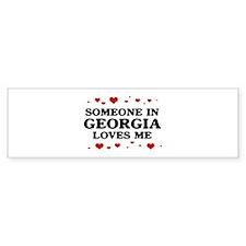 Loves Me in Georgia Bumper Sticker (50 pk)