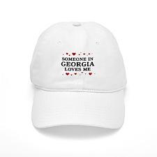 Loves Me in Georgia Baseball Cap
