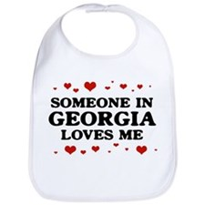 Loves Me in Georgia Bib