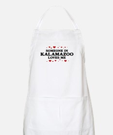 Loves Me in Kalamazoo BBQ Apron