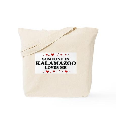 Loves Me in Kalamazoo Tote Bag