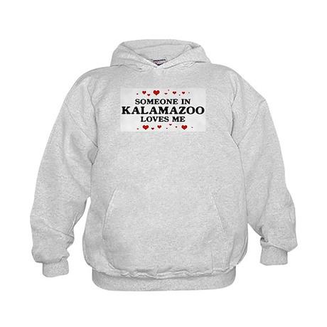 Loves Me in Kalamazoo Kids Hoodie