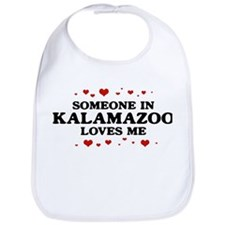 Loves Me in Kalamazoo Bib