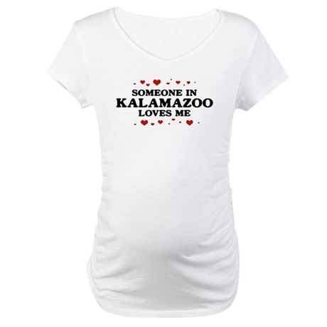 Loves Me in Kalamazoo Maternity T-Shirt
