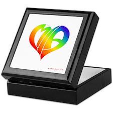 MIa (Rainbow Heart) Keepsake Box