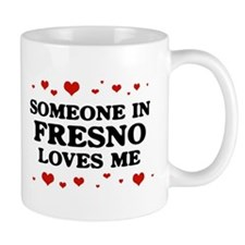 Loves Me in Fresno Mug
