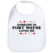 Loves Me in Fort Wayne Bib