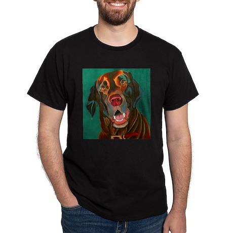 Chocolate Lab Dark T-Shirt