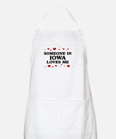 Loves Me in Iowa BBQ Apron