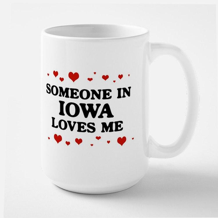 Loves Me in Iowa Mug