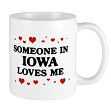 Loves Me in Iowa Small Mug
