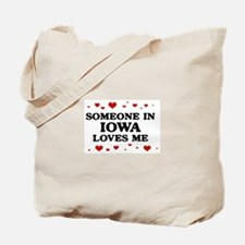 Loves Me in Iowa Tote Bag