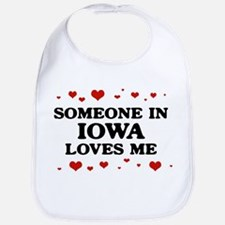 Loves Me in Iowa Bib