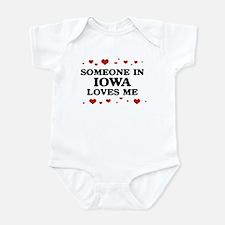 Loves Me in Iowa Infant Bodysuit
