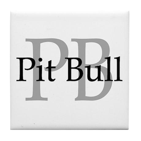 Pit Bull PB Tile Coaster
