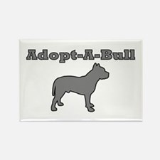 Adopt-A-Bull Rectangle Magnet
