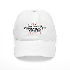 Loves Me in Copenhagen Baseball Cap